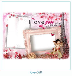love Photo Frame 668