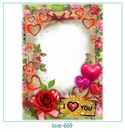 love Photo Frame 669
