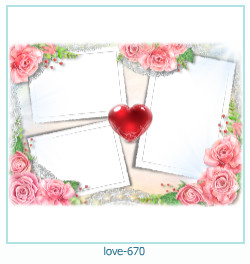 love Photo Frame 670