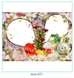 love Photo Frame 671