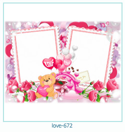 love Photo Frame 672