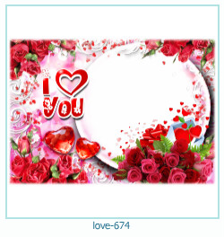 love Photo Frame 674