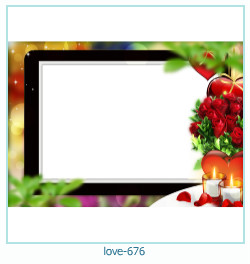 love Photo Frame 676