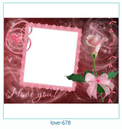 love Photo frame 678