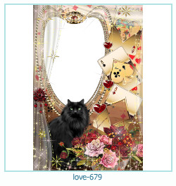love Photo frame 679