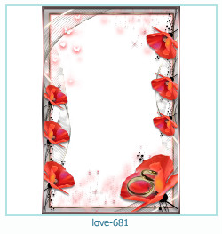 love Photo frame 681