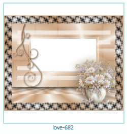 love Photo frame 682