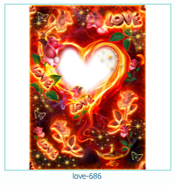 love Photo Frame 686