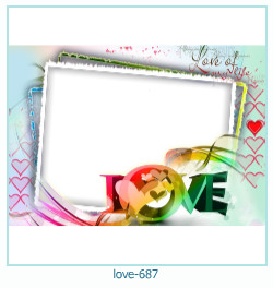 love Photo Frame 687