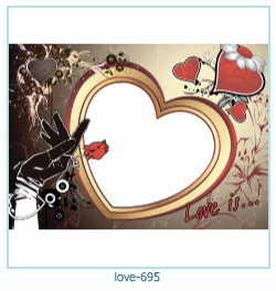 love Photo Frame 695