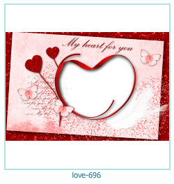 love Photo Frame 696