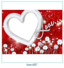love Photo Frame 697