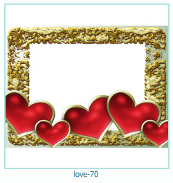 love Photo frame 70