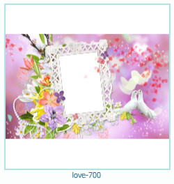 love Photo Frame 700