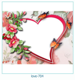 love Photo Frame 704