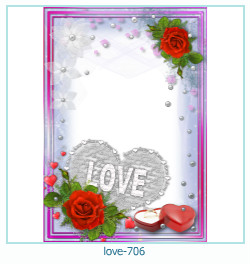 love Photo Frame 706