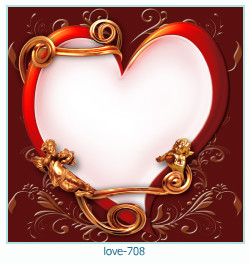 love Photo Frame 708