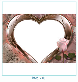 love Photo Frame 710