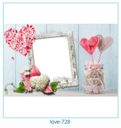 love Photo frame 728