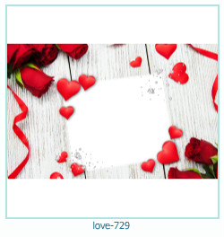 love Photo frame 729