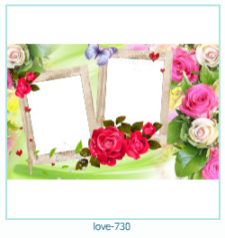love Photo frame 730