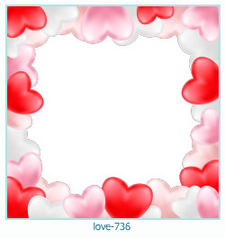 love Photo frame 736