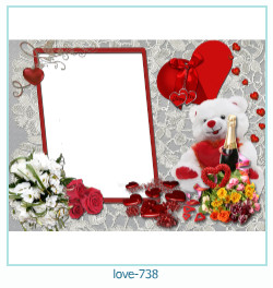 love Photo frame 738