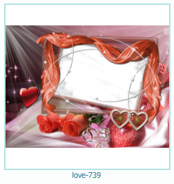 love Photo frame 739