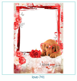 love Photo Frame 741
