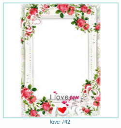 love Photo Frame 742