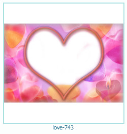 love Photo Frame 743