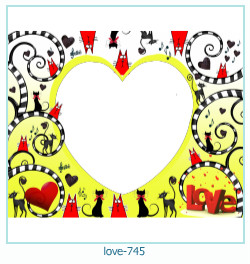love Photo Frame 745