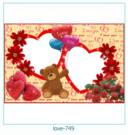 love Photo frame 749