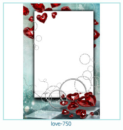 love Photo frame 750
