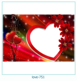 love Photo frame 751