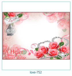 love Photo frame 752