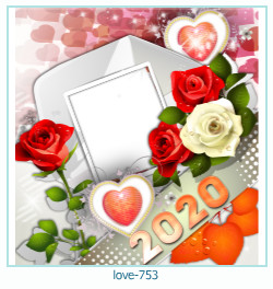 love Photo frame 753