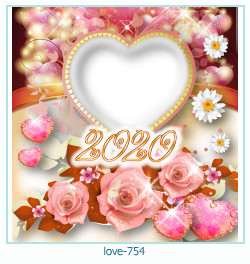love Photo frame 754