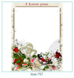love Photo frame 757