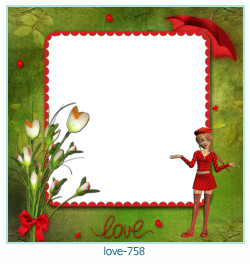 love Photo Frame 758