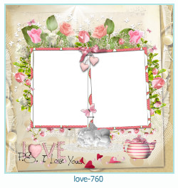love Photo Frame 760