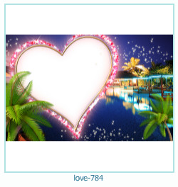 love Photo Frame 784