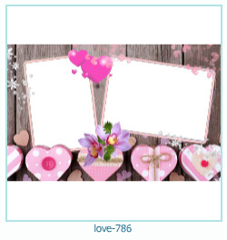 love Photo Frame 786