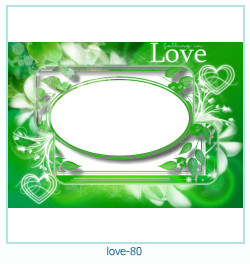 love Photo frame 80