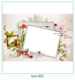 love Photo frame 800