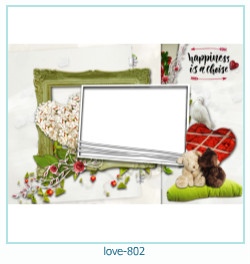 love Photo frame 802