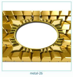 धातु फोटो फ्रेम 26
