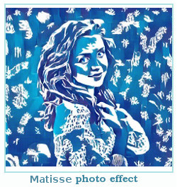 effet Prisma photo Matisse