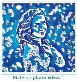 efeito Prisma foto Matisse