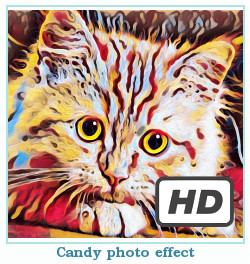 Deepdream dreamscope photo effect candy